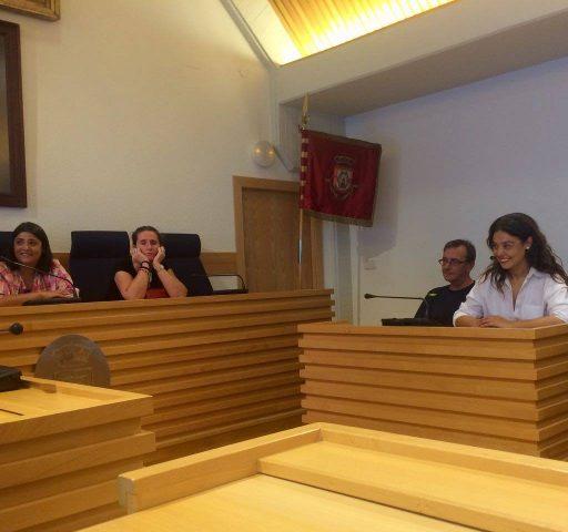 Visita al Ayuntamiento de Ciudad Real