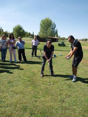Visita al campo de golf